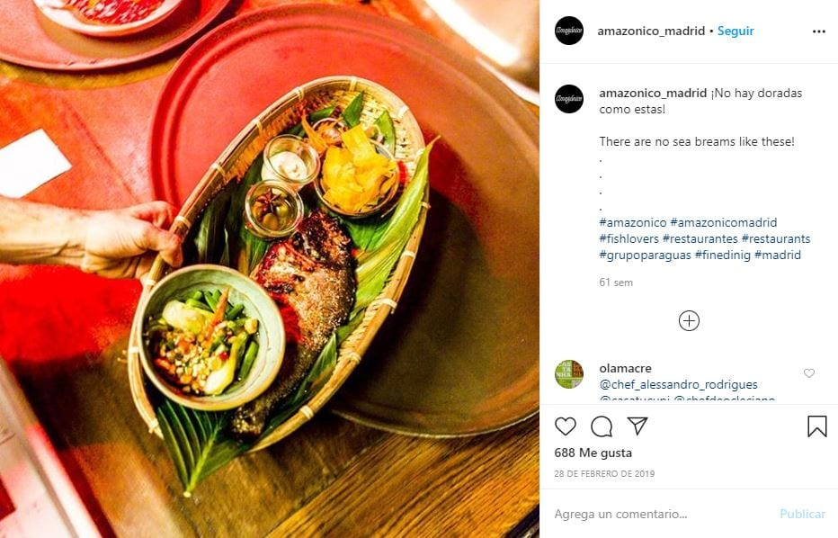 instagram marketing para restaurantes