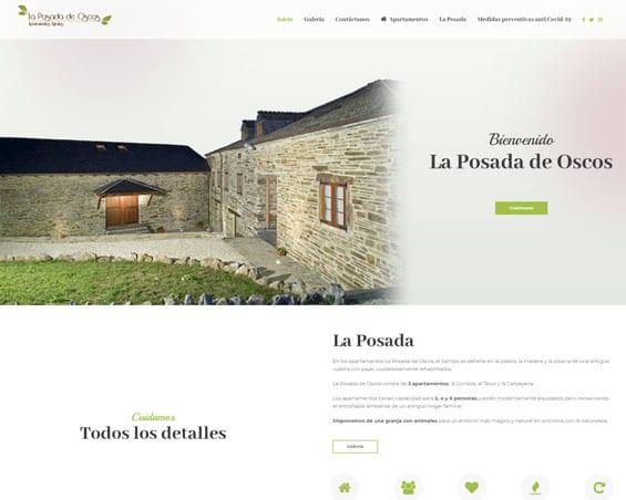 proyecto la posada de oscos casa rural - kewomedia