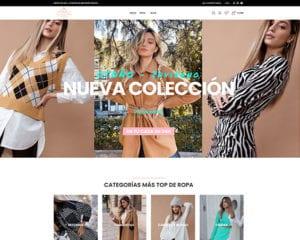 proyecto lyrandra tienda ropa - kewomedia