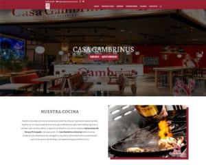 proyecto restaurante casa gambrinus asturias - kewomedia