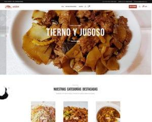 proyecto restaurante chino gran pekin - kewomedia